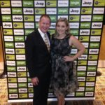 Jack Dyer Medal at Crown Palladium with producer and presenter James Sherry