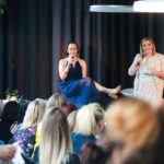 Hosting a Q & A with Mia Freedman at The Cullen. Photo by APL Photography