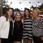 Nova 100 Trade Party with Nova Entertainment COO Louise Higgins, Nova 100 Drive Newsreader Sophia Lazarides and Sarah Lucy